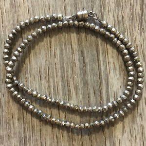 Fighting Eel Jewelry - Pyrite bracelet